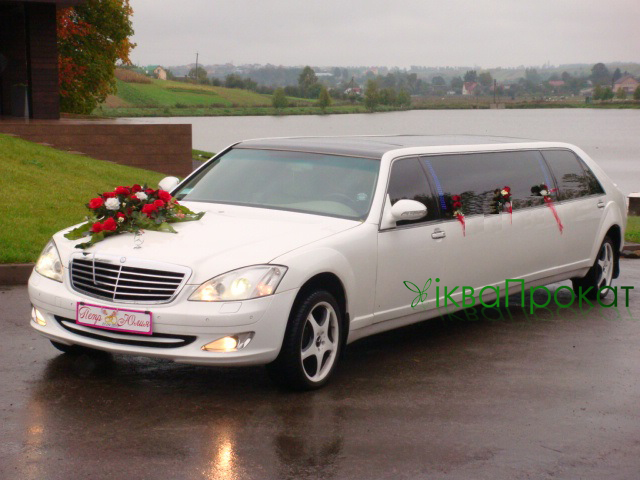 Лімузин Mercedes-benz s-класу (3)