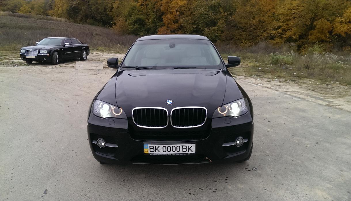 замовити BMW Х6 на весілля прокат