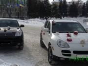 Porsche Cayenne авто ан весілля