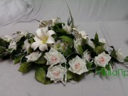 1,1 Екібана троянди та лілії-100 грн