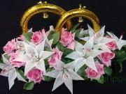 1,10 Ліллія, рожева троянда, кільця 200 грн
