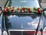 1,16 екібана поздовжня, комбіновані квіти, 400 грн