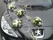 Ротанг Зелень з білими квітами, прокат