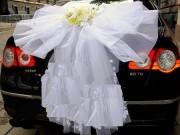 5,23 Пишний Бант на зад авто з квіткою, 200 грн