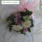 4,053  Хризантема з барвінком