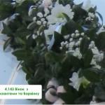 4,143 Вінок  з Хризантеми та Барвінку