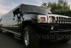 Hummer H2 чорний лімузин