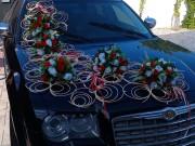 квіти з ротангом прикраси декор на авто