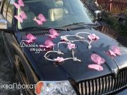 прикраси на авто Метелики та серця