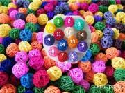 ротангові кульки прикраси на авто