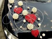 3,32 (Колір будь-який) Червоні серця із молочними кульками,  200 прокат, 400 продаж