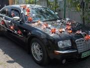 3,48-4 Персиково-червоний з білим,  комплект  на авто , 9 елементів перід + 2 бік, зад = 300 прокат, 650 п