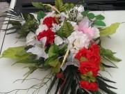 екібана на авто штучні квіти купити оренда