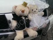 прикраси на авто ведмедики