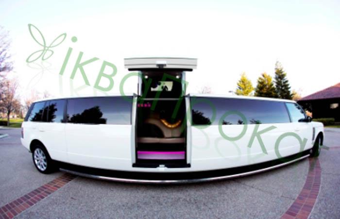 ikvaProkat.com-white-Range-Rover-limousine Заказать лимузин  Ровно Луцк Ужгород