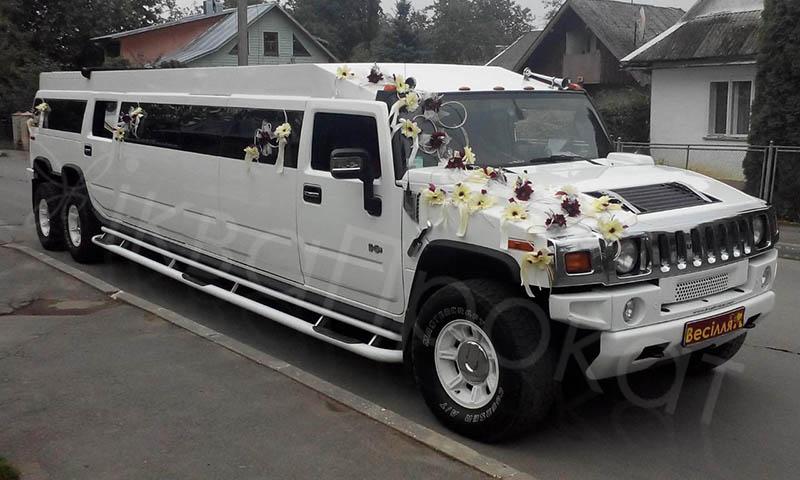 замовити лімузин на весілля Hummer H2
