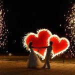 піротехнічне шоу на весілля
