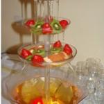 алкогольний фонтан на весілля прокта оренда купити