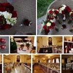декор ресторану в колір , стилізоване наше весілля, рівне