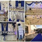 декорація зал на весылля франківську, франківськ декор зали не дорого, прикрашення ресторану на весілля у франківську, декор залу Долина,
