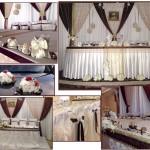 декорація залу на весілля, замовити декр зали на весілля у Франківську,