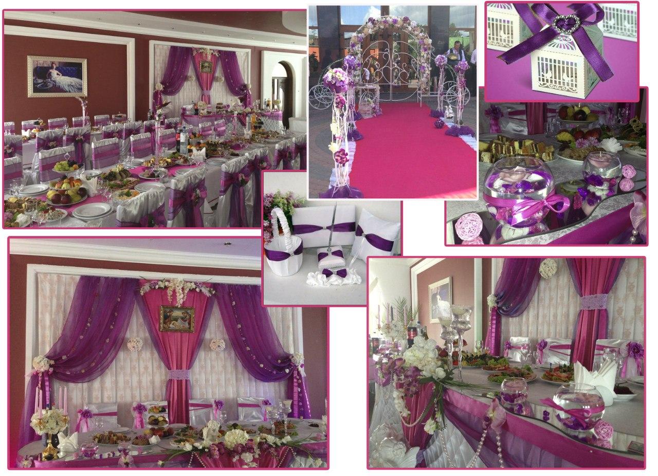 Свадебные украшение помещение фото