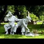 франківськ живі статуї на весілля