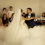 тяжелый дым на  свадьбу ровно,