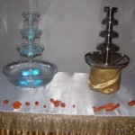шоколадний та виний фонтан прокат оренда