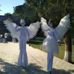 ангели ходулісти міми аніматори