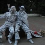 живі статуї франківськ, на весілля живі статуї ц франківську