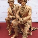 живі статуї івано-франківськ, франківськ живі статуї