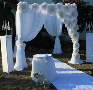 декорації виїзної церемонії,