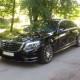 чорний седан Mercedes-Benz W222