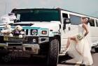 Хамер на весілля з нареченою