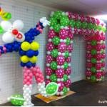 рамка з балонів