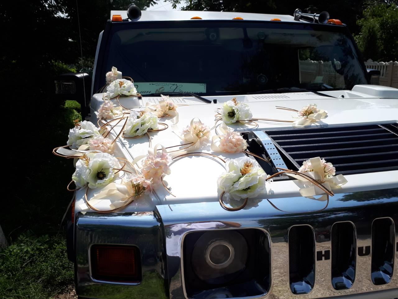 hummer h2 лімузин на весілля