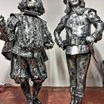 іквапрокат живі статуї