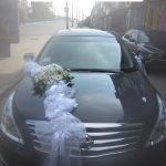 прикраси на авто живі квіти хризантема