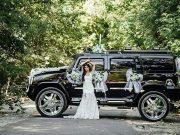 Джип чорний Hummer H2